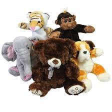 Assortment of stuffed animals