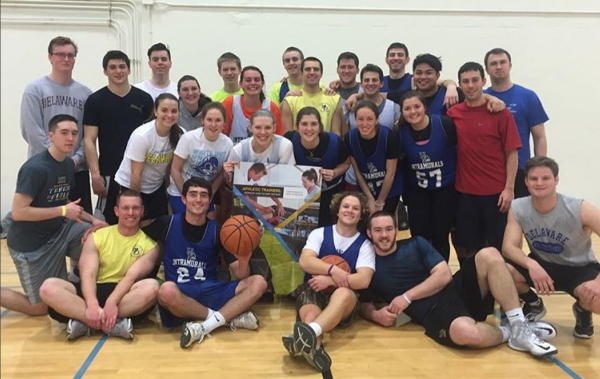 Students vs Faculty Basketball 2016