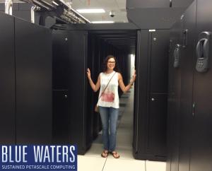 Jodi at Blue Waters Supercomputer