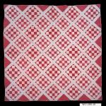 red/white diamond/square pattern