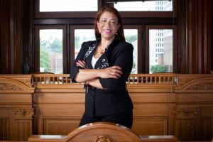 Carmen Castillo, a Dominican hotel housekeeper and councilwoman
