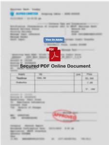 fake PDF
