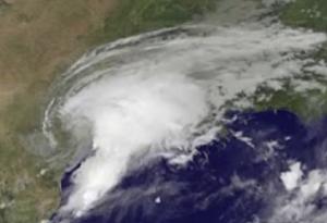 Tropical Storm Harvey: Aug. 28, 2017. NASA photo.
