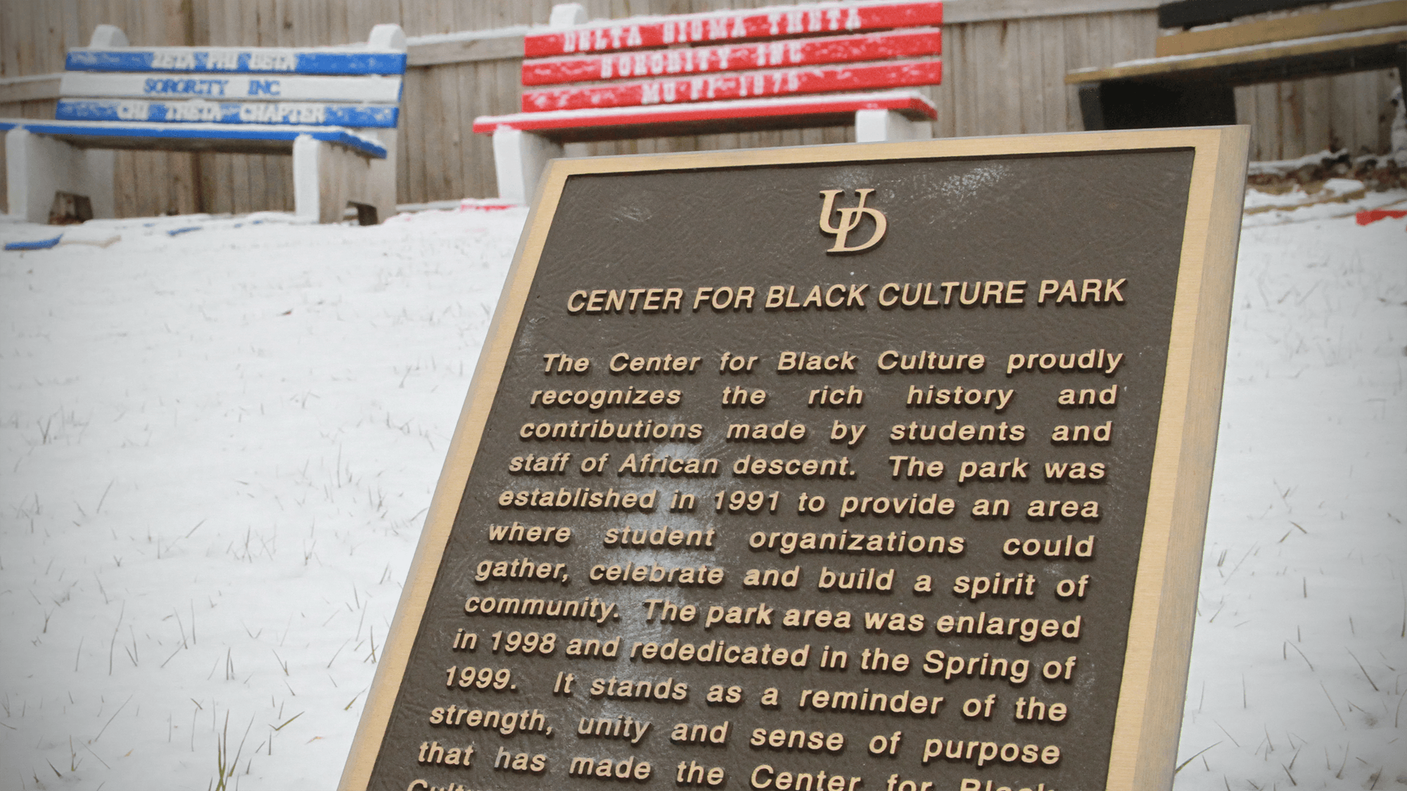 Photograph of Center for Black Culture at University of Delaware