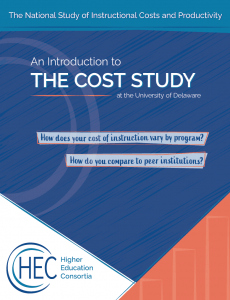 Link to brochure: An Introduction to The Cost Study at the University of Delaware