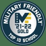 2021-22 Military Friendly Schools Top 10 Award