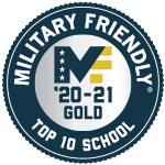2020-21 Military Friendly Schools Top 10 Award