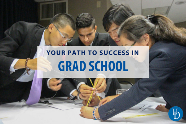 Your path to success in grad school