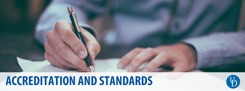 Accreditation and standards