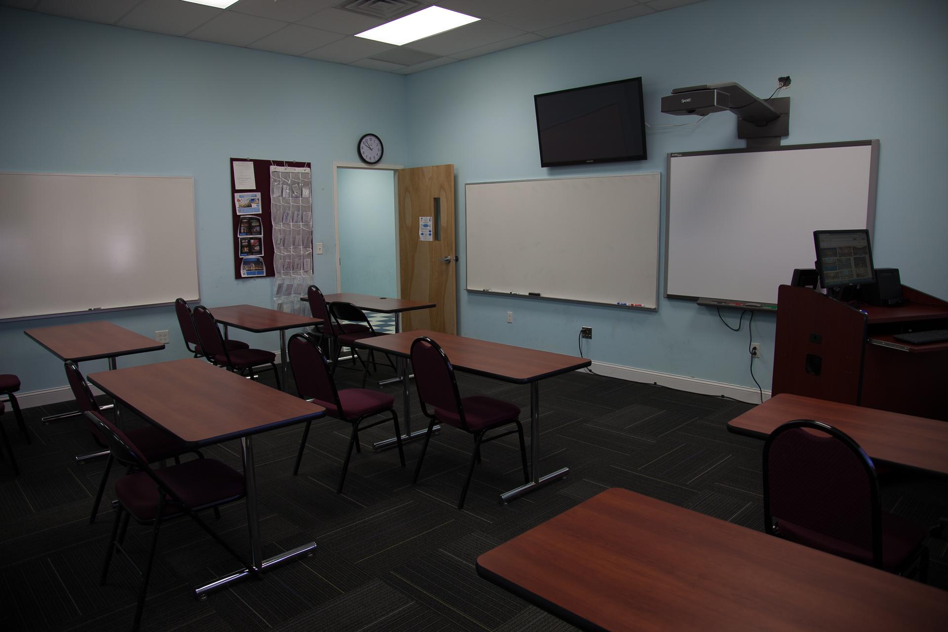 Classroom, ELI Building