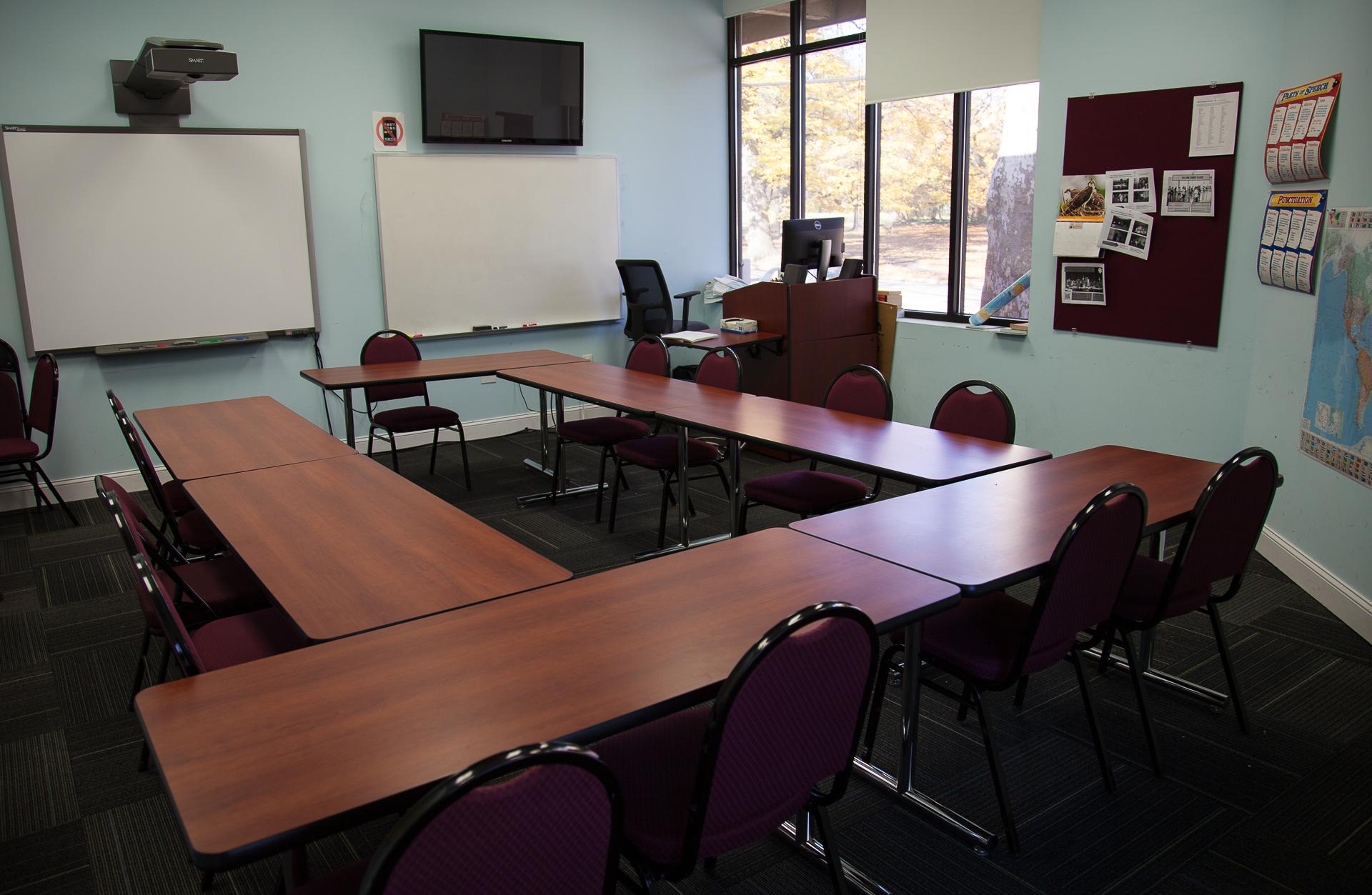 Classroom, ELI building, 108 East Main St.
