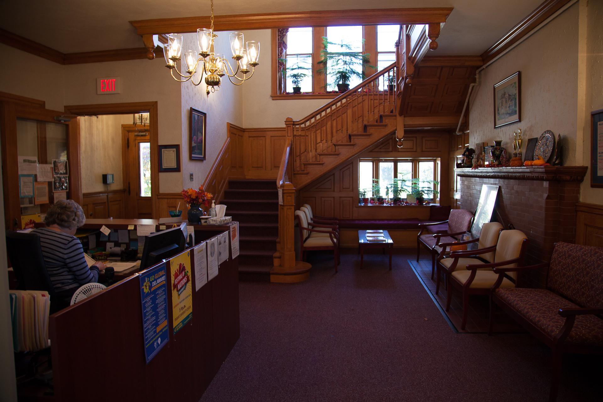 ELI lobby, 189 West Main St.