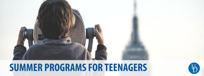 Summer programs for teenagers