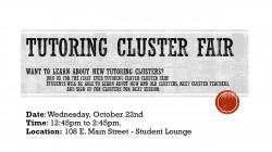 Tutoring Cluster Fair