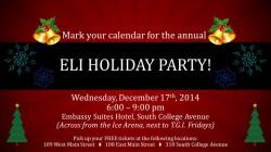 ELI HOLIDAY PARTY!
