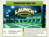 IV 15 Launch Trampoline