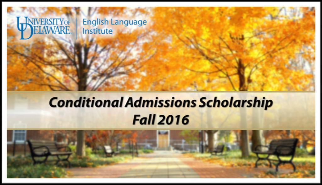CAP Scholarship Fall 2016