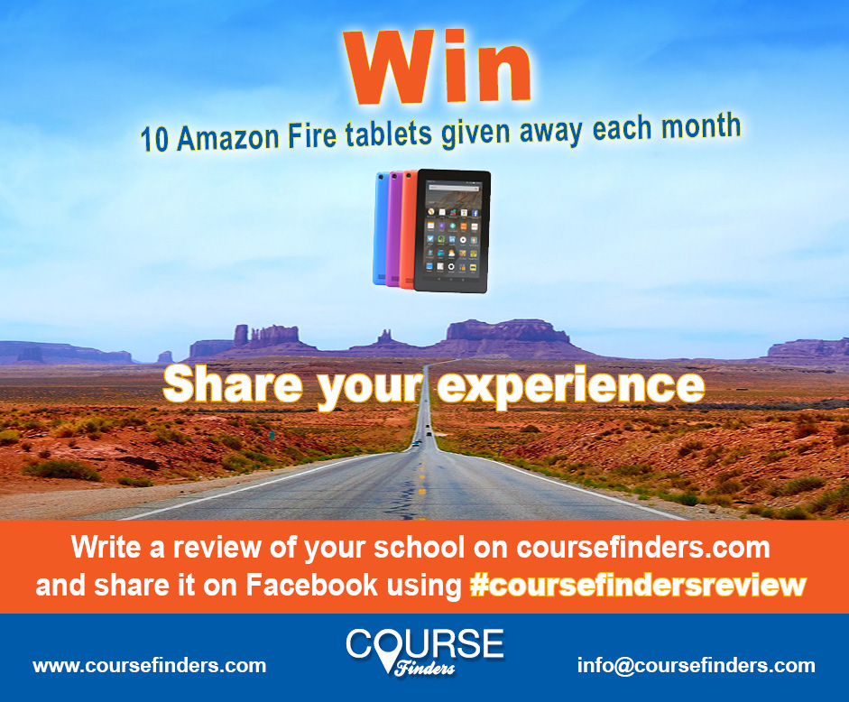 Write a review of us, and enter to win a tablet | English Language