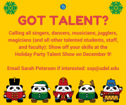 holiday-party-talent-needed