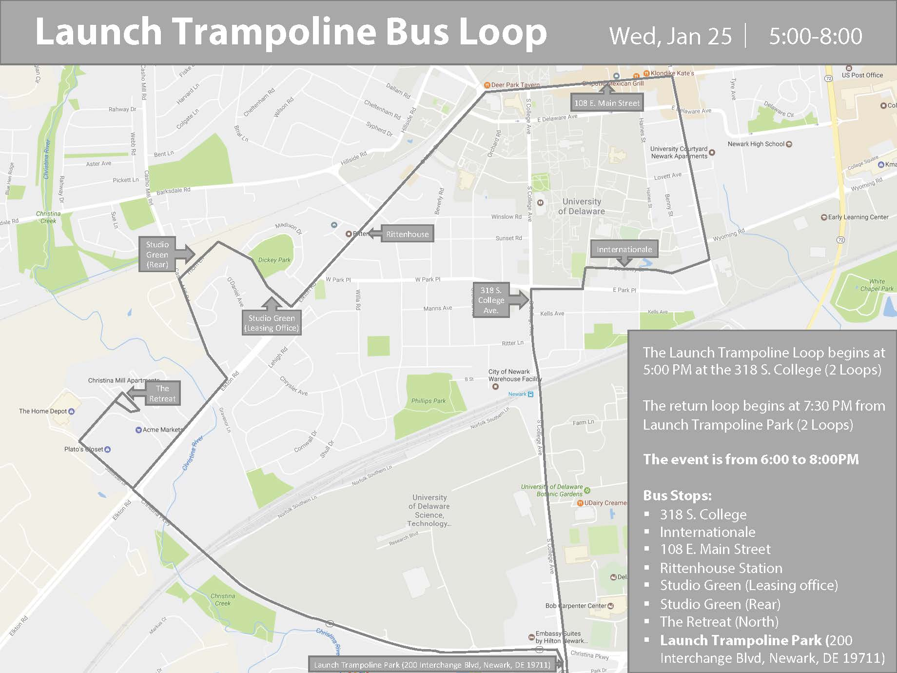 Free Shuttle Bus Schedule