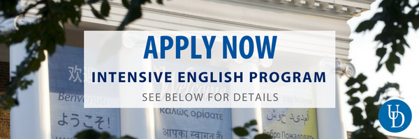 Apply now for the Intensive English Program
