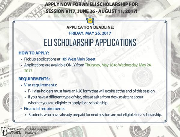 Session VI Scholarships