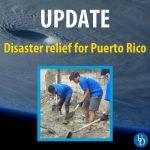 Puerto Rico Disaster Relief Update