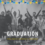 Cheering crowd - Graduation: Friday, April 27, 3:30-6:30 p.m., Pearson Hall