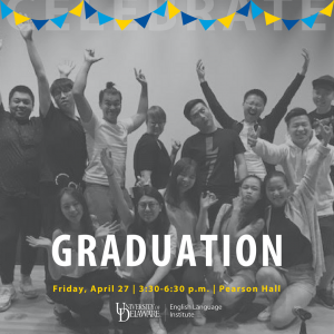 Cheering crowd - Graduation: Friday, April 27, 3:30-6:30 p.m., Pearson Hall
