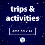 Trips & activities for Session V 18 | Floating lanterns glowing in the night sky