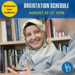 ELI Orientation begins on August 22, 2018