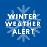 Click here to view news about the weather alert on UDaily