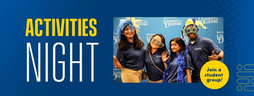 Activities Night - Join a student group