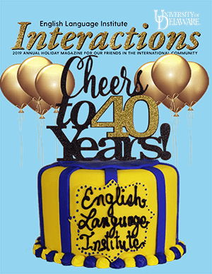Cover of the 2019 ELI Interactions magazine