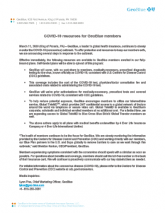 thumbnail of GeoBlue press release. Follow the link for a pdf version.