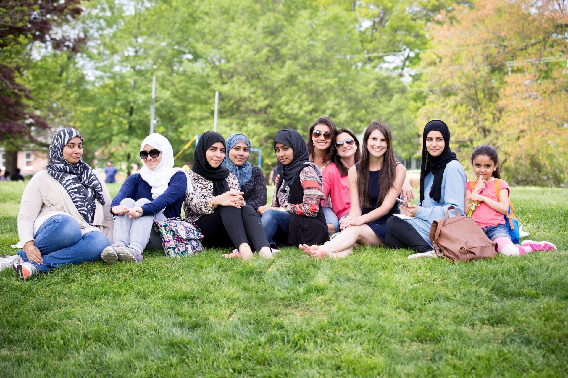 Women's Group participants at