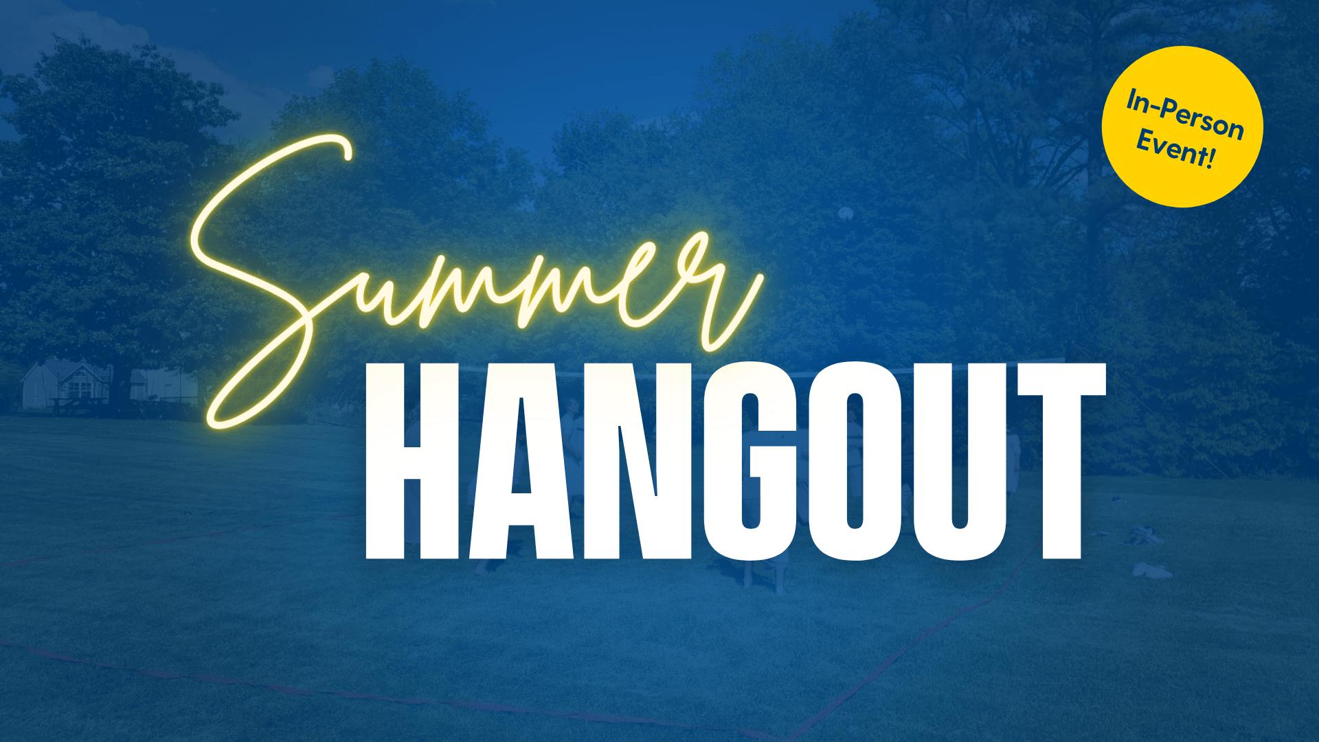 ELI Summer Hangout