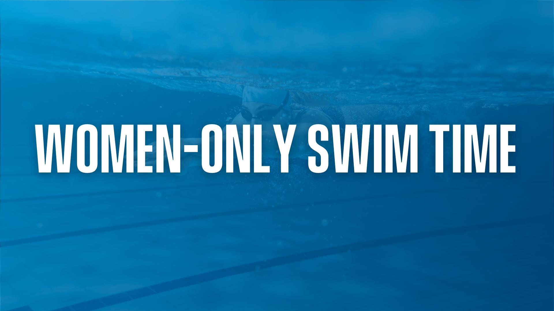 Women-Only Swim Time