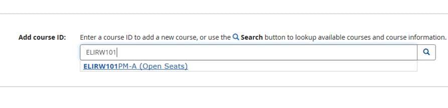 Screen capture of UDSIS Web Registration Swap function