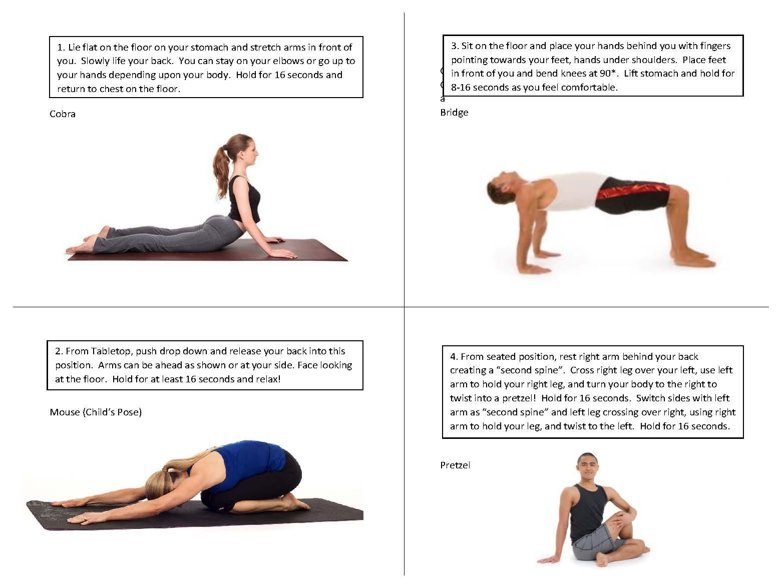 Floor strength and flexibility 2