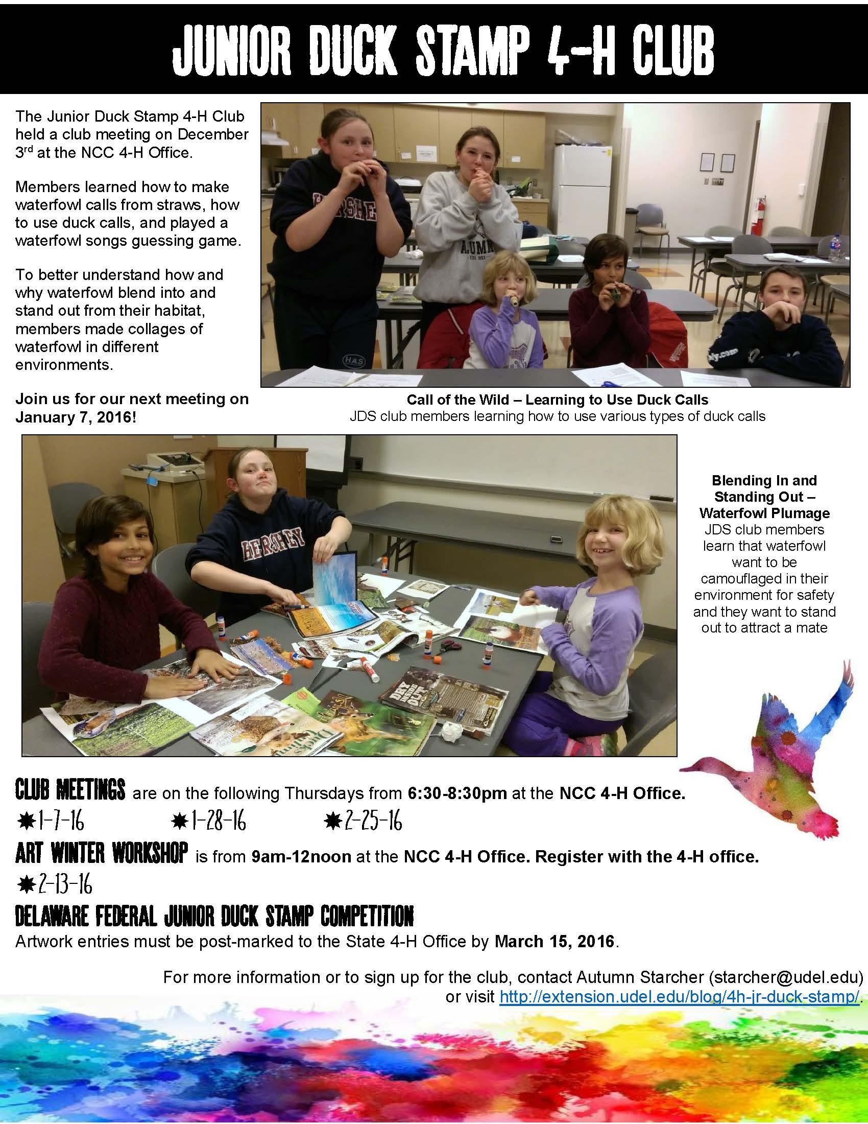JDS club newsletter