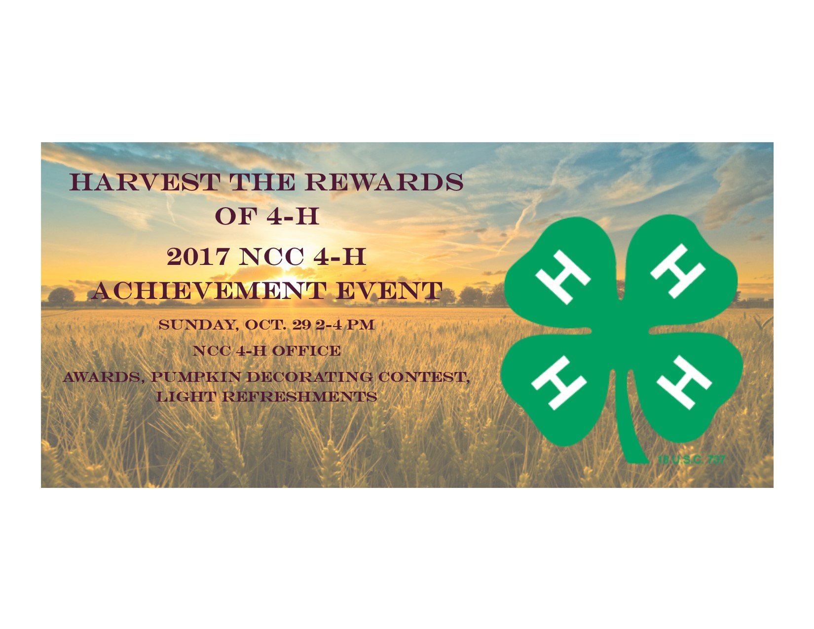 new castle county 4 h news flash