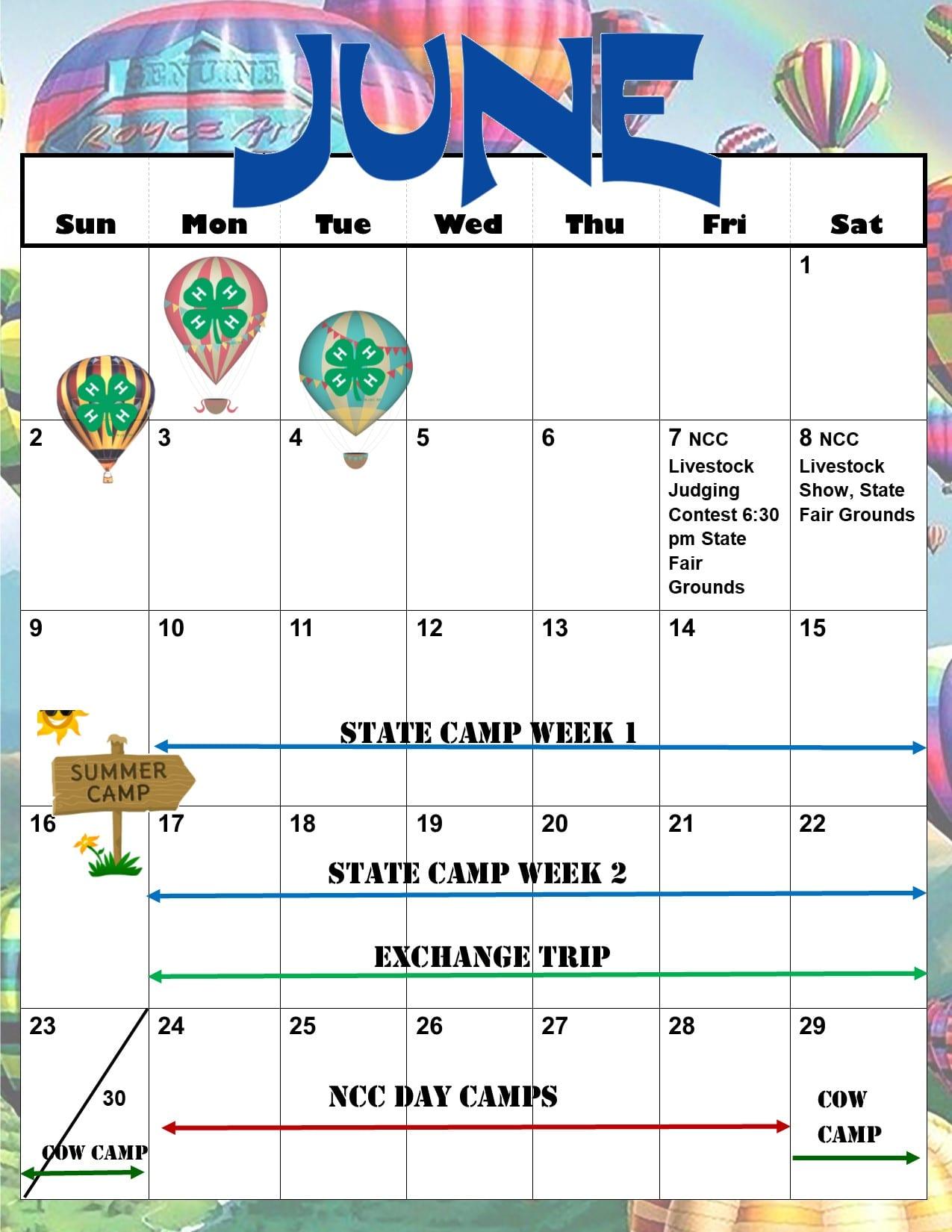 13fe8f94244 Printable April through June Calendars