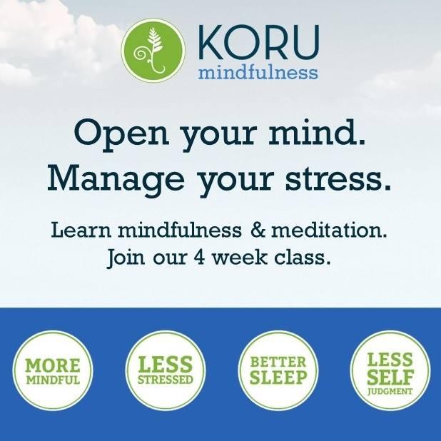 KORU Mindfulness Classes
