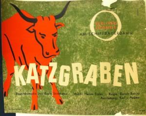 Katzgraben by Erwin Strittmatter. Directed by Brecht.  1953