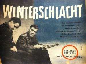 Winterschlacht by Johannes R. Becher. 1955