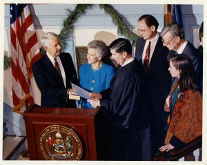 Inaguaration of Dale E. Wolf