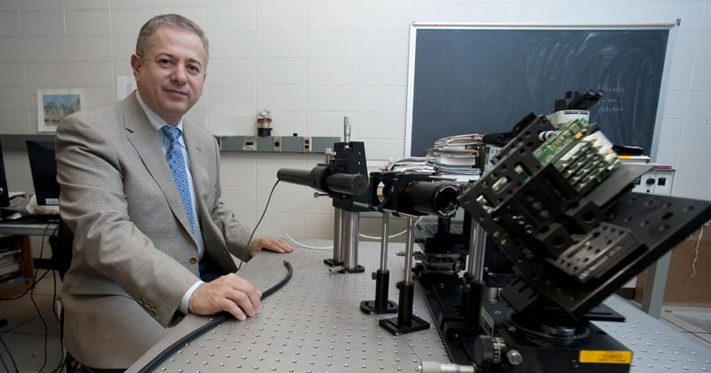 Gonzalo Arce, Charles Black Evans Professor in the Department of Electrical and Computer Engineering, is a leader in computational imaging.