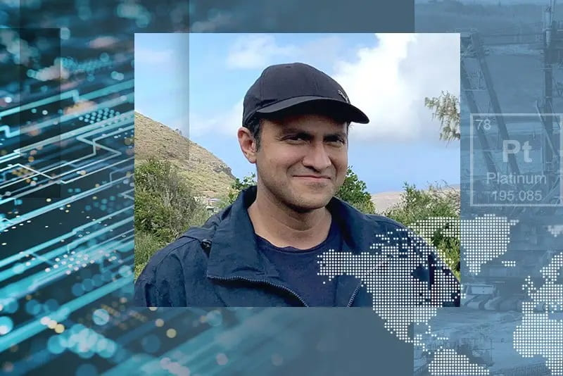 Abhyudai Singh is a mathematical biologist and associate professor at the University of Delaware, who studies and models biochemical processes inside living cells. Photo by Ambre Alexander.