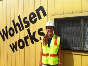 """I have had the opportunity to attend a ground breaking at Iron Hill Museum, visit other job sites, participate in the bidding process for construction jobs, learn more about engineering drawings, and help out in estimating on various projects."" - Allison Murray"